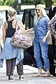 gwen stefani rocks all denim for departing family flight 07