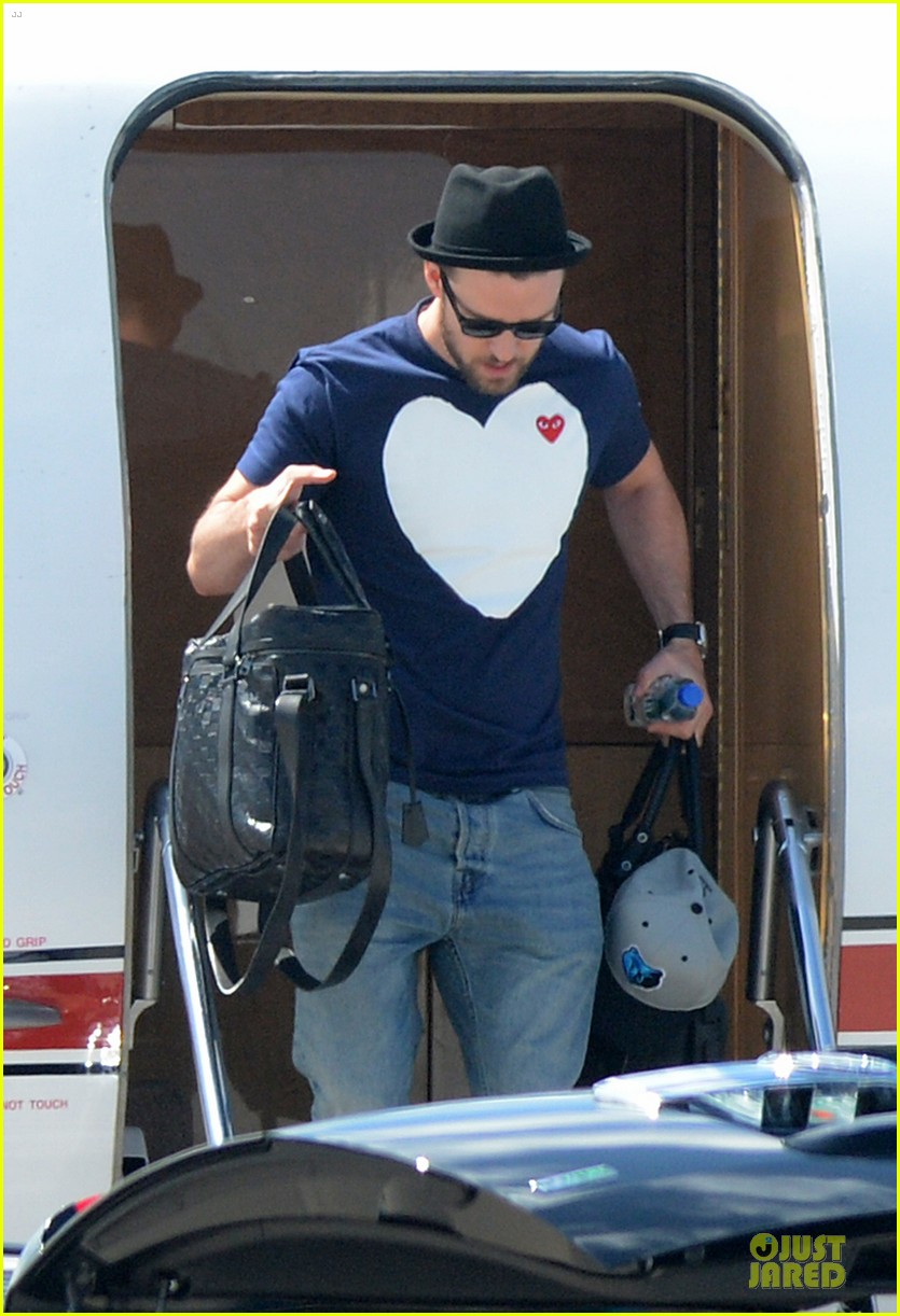 justin timberlake big heart flies to miami 062930248