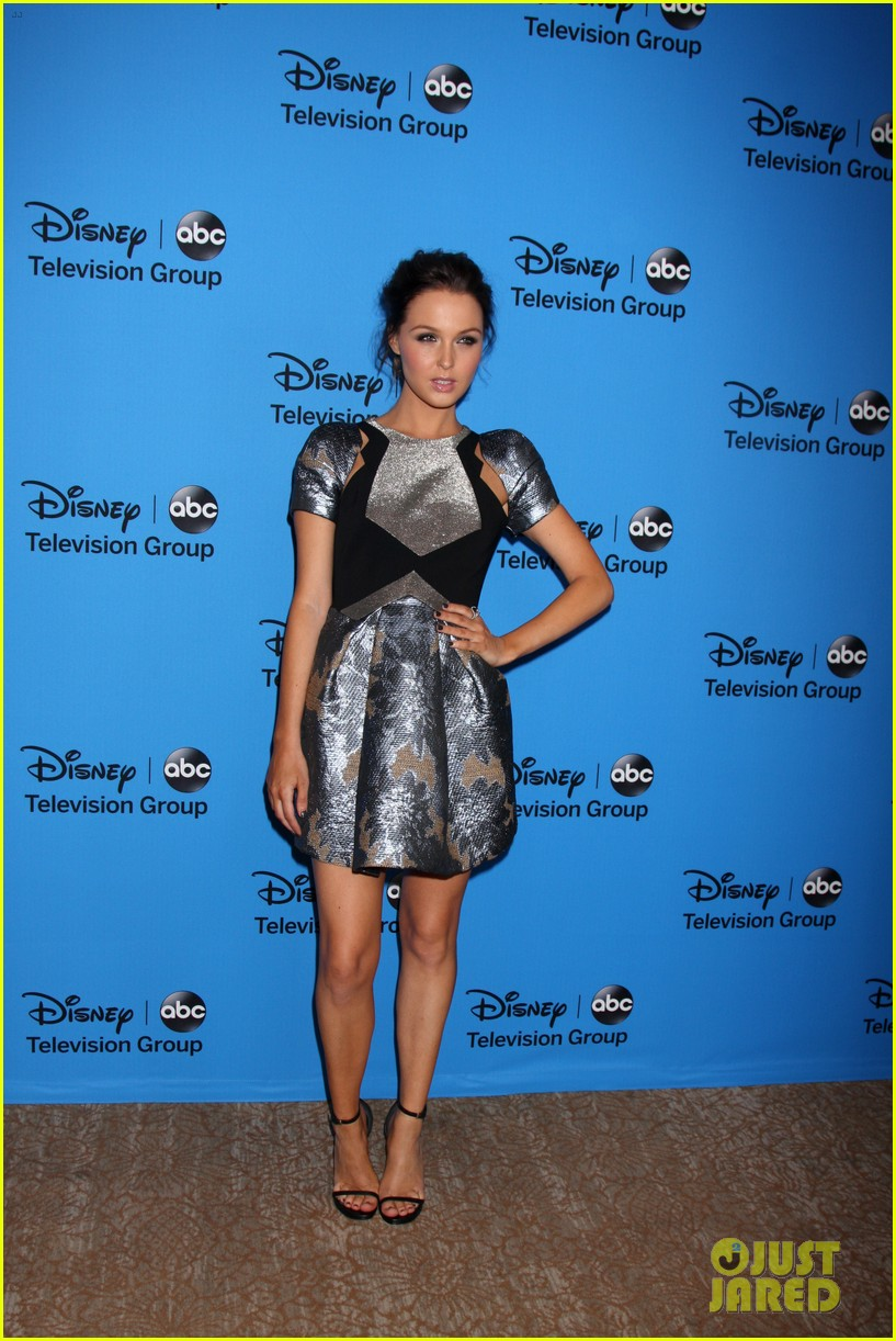 hannah ware camilla luddington abc tca party 37