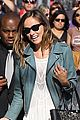 olivia wilde supports jason sudeikis at jimmy kimmel live 02