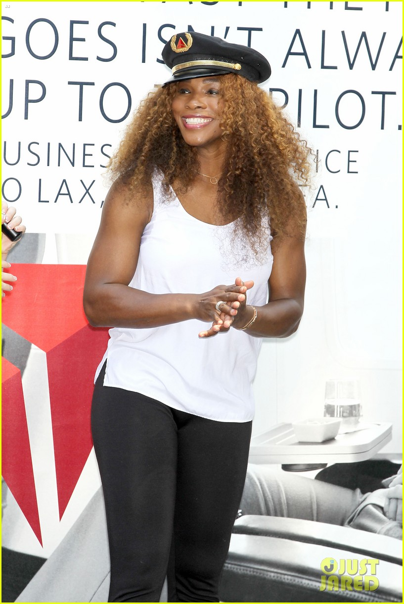 serena williams sports two hairstyles in one day 17