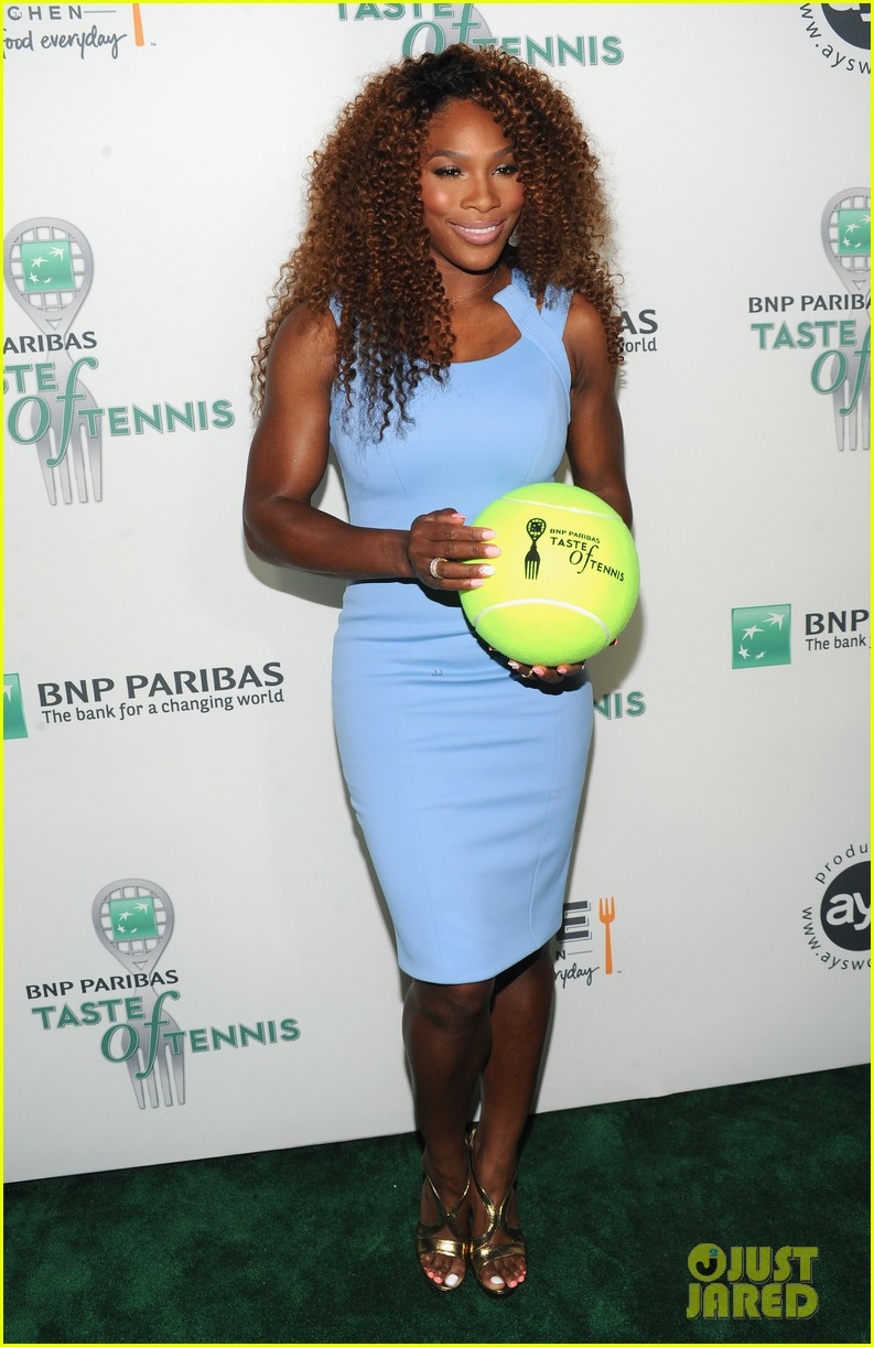 serena williams bnp paribas taste of tennis with venus 012935862