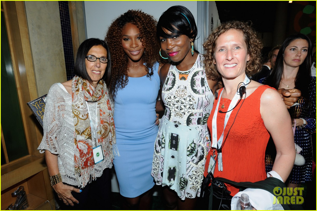 serena williams bnp paribas taste of tennis with venus 20