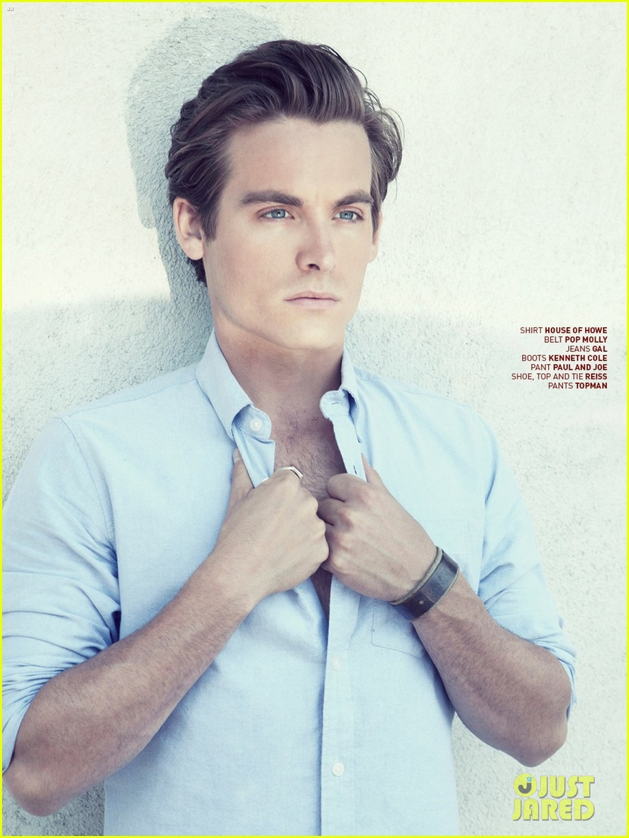 kevin zegers talks cory monteith death received his ashes 022924952