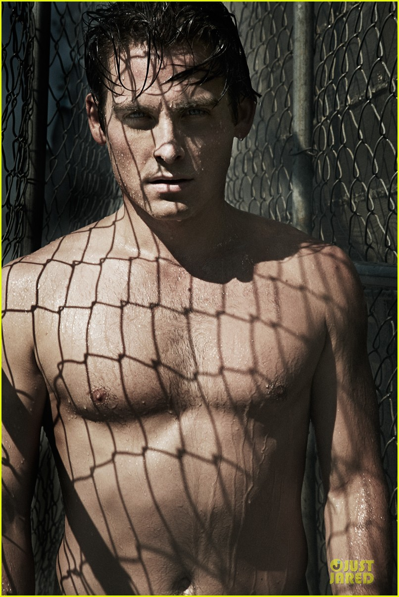 kevin zegers shirtless for flaunt dye issue 022936326