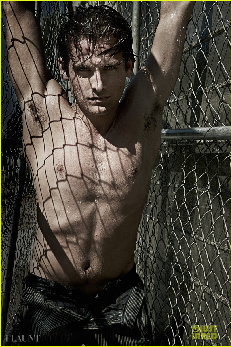 kevin zegers shirtless for flaunt dye issue 032936327
