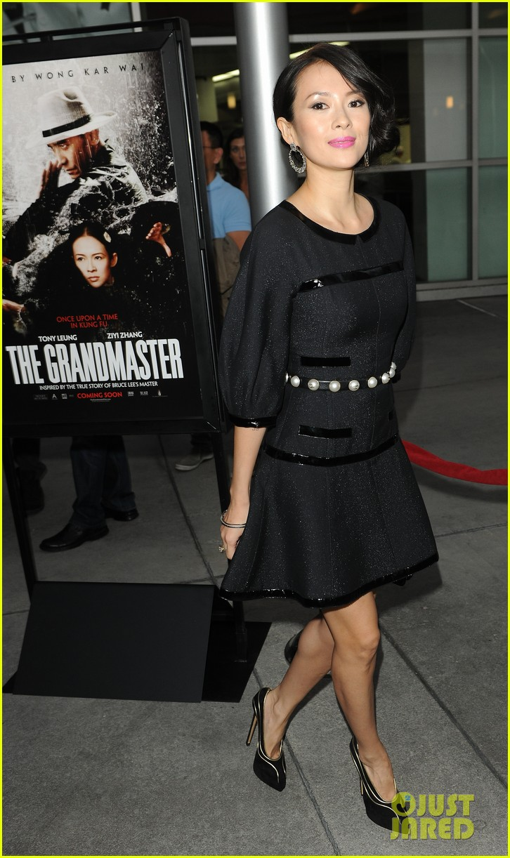 ziyi zhang grandmaster premiere with analeigh tipton 15