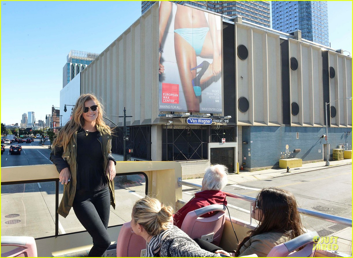 nina agdal european wax center bum bus tour 152958852