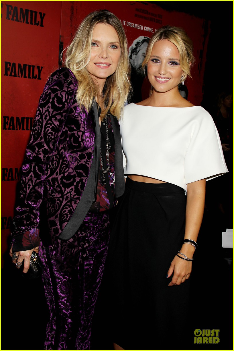 dianna agron michelle pfeiffer the family nyc premiere 22