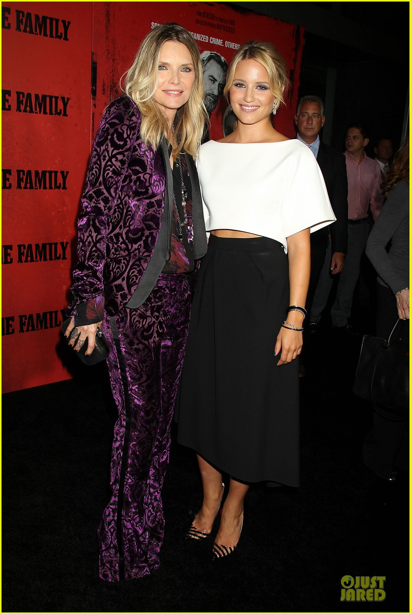 dianna agron michelle pfeiffer the family nyc premiere 232949716