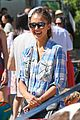 jessica alba farmers market fun with family after nyfw 21