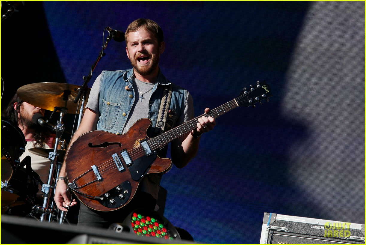 lily aldridge caleb followill global citizen festival couple 11