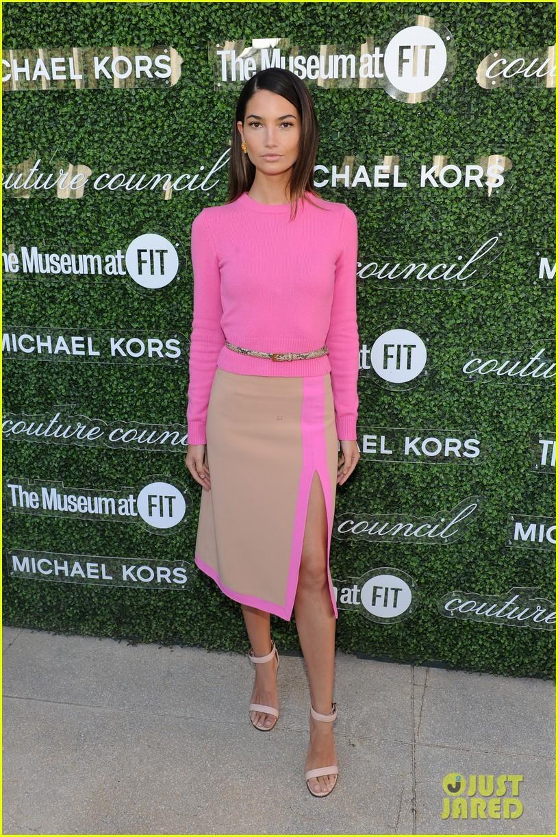 lily aldridge doutzen kroes couture lunch honoring michael kors 14