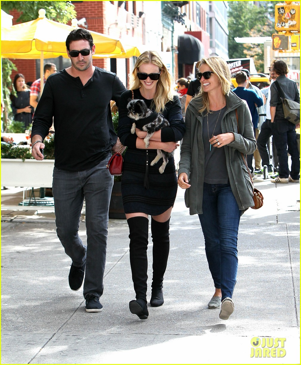 anne v matt harvey nyc lunch date twosome 14