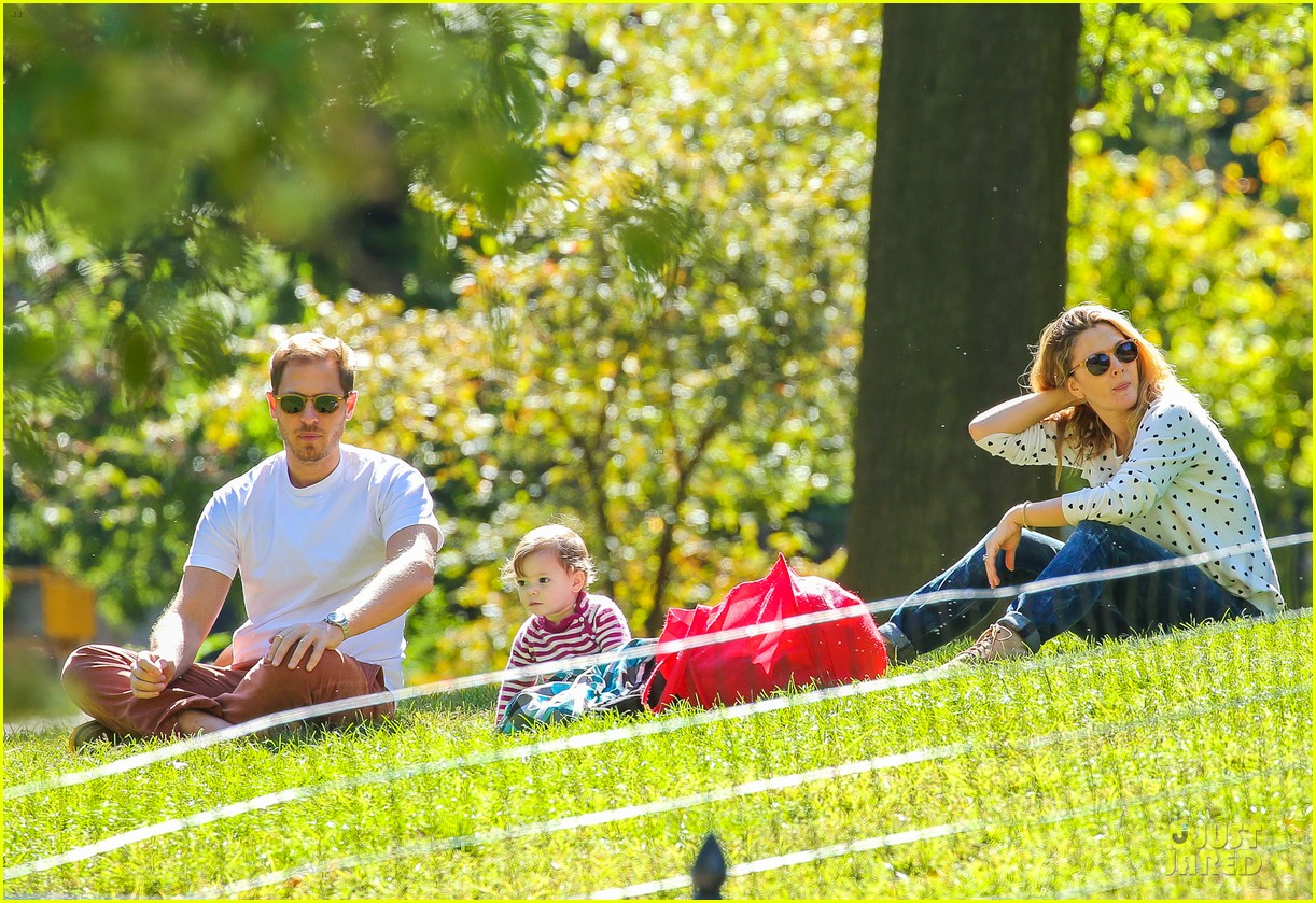 drew barrymore will kopelman central park fun with olive 092962221