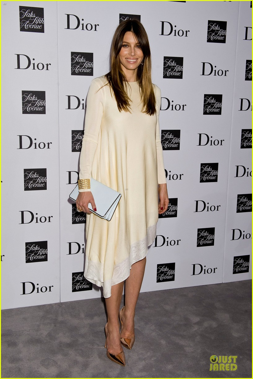 jessica biel ashley madekwe dior pret a porter dinner 01