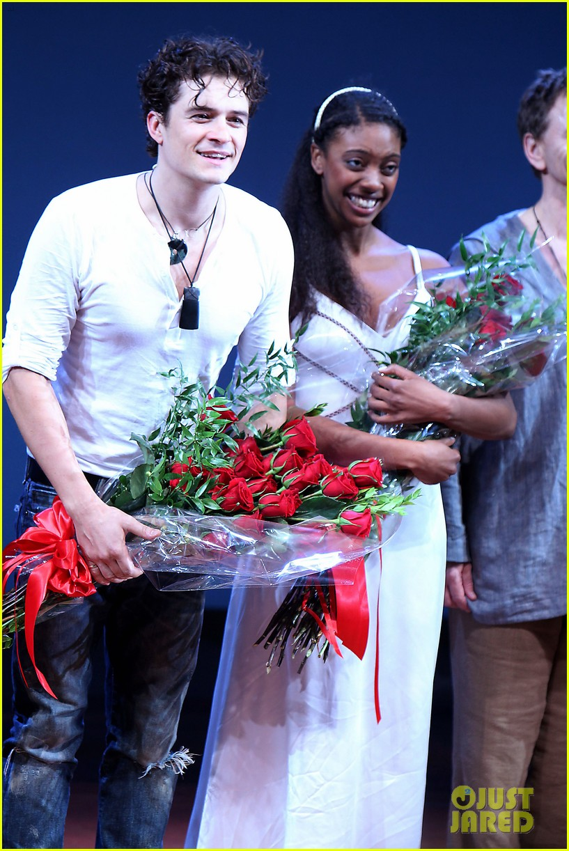 orlando bloom romeo juliet opening with condola rashad 03