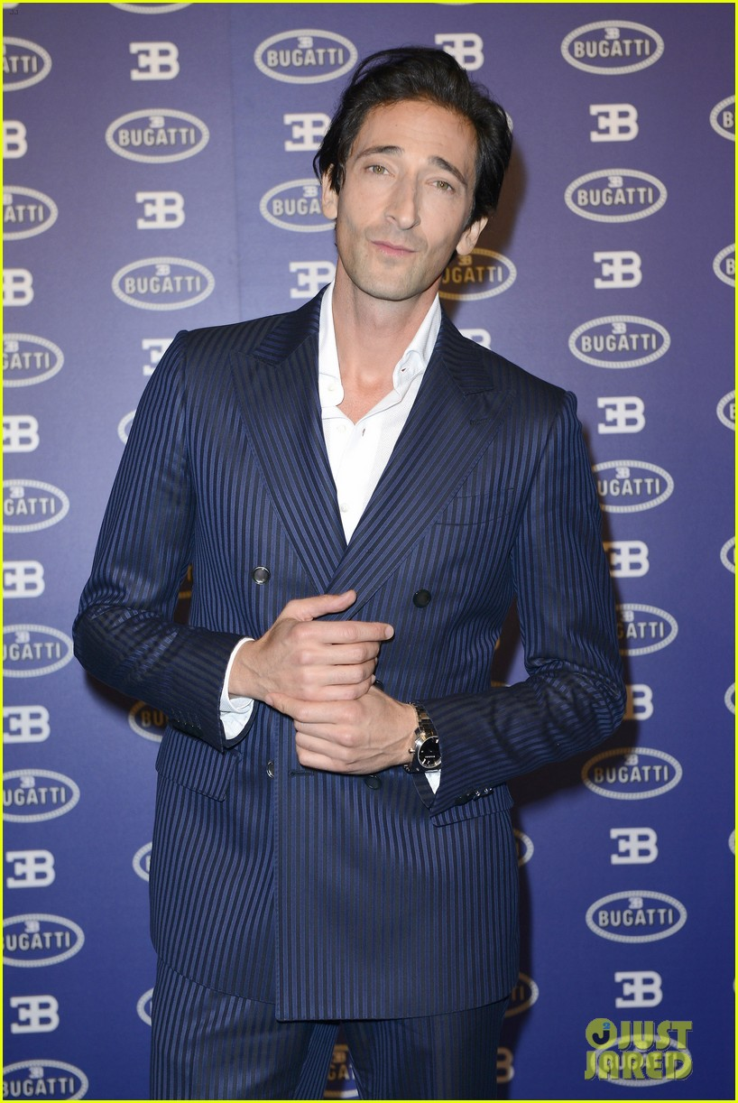 adrien brody bugatti lifestyle collections launch 142955994