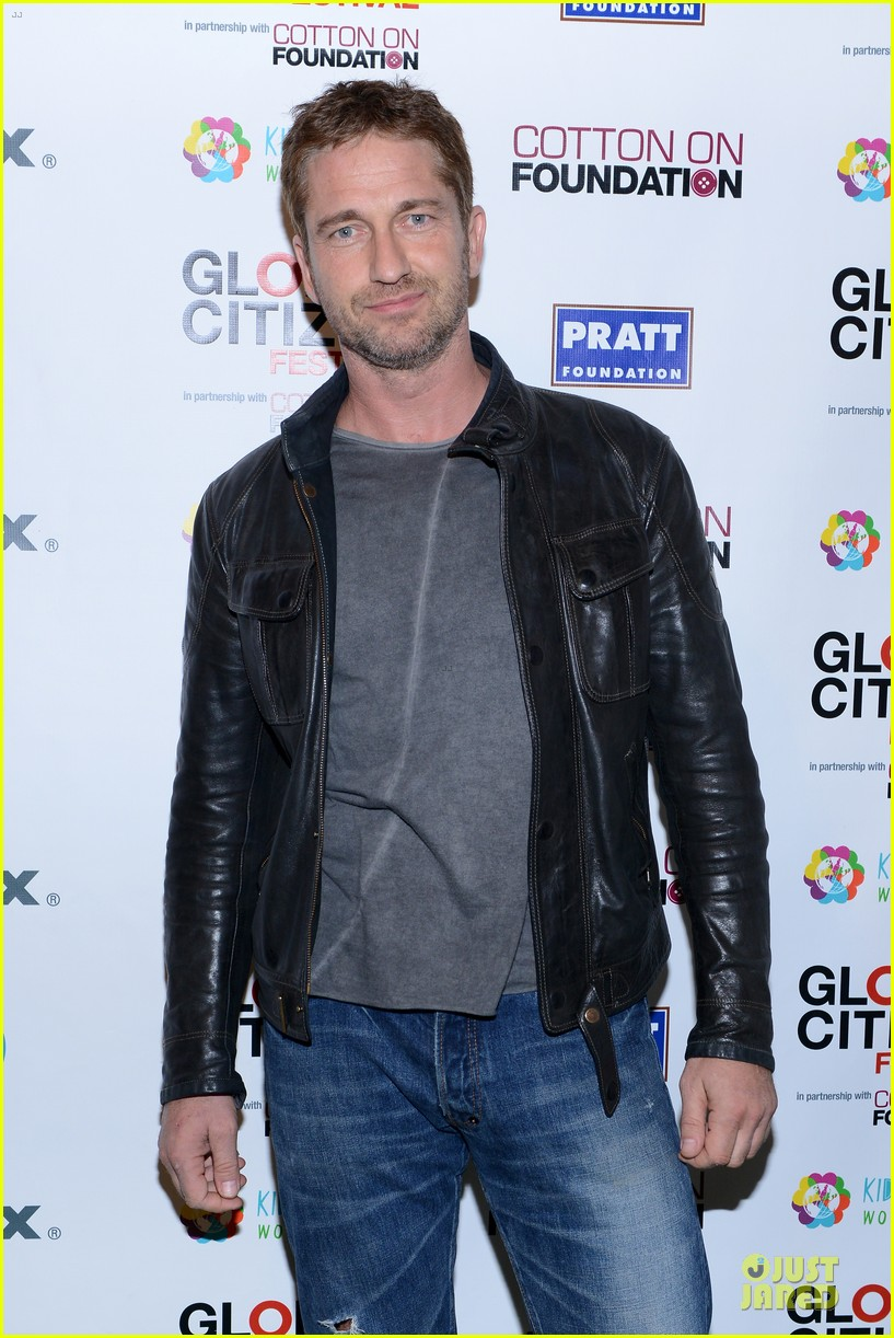 gerard butler global citizen festival stud 022962044
