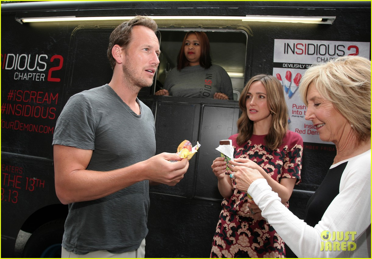 rose byrne patrick wilson promote insidious chapter 2 02