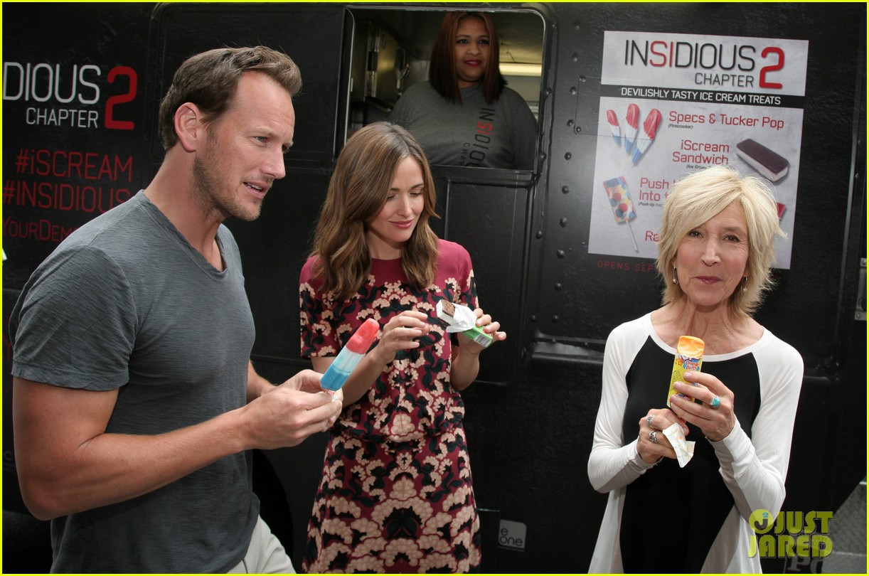 rose byrne patrick wilson promote insidious chapter 2 10