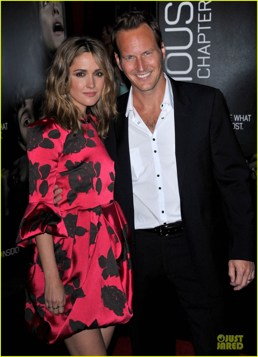 rose byrne patrick wilson insidious chapter 2 premiere 202949849