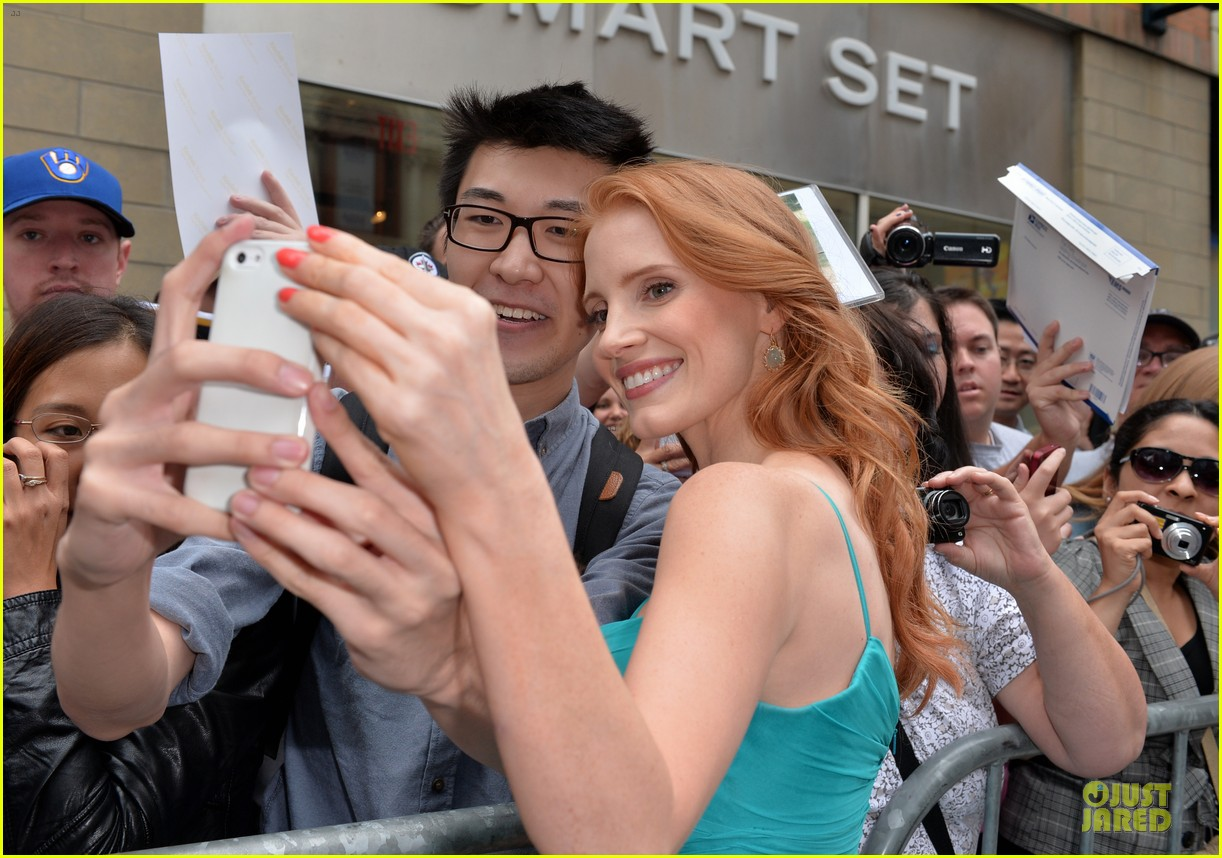 jessica chastain james mcavoy disappearance of eleanor rigby tiff premiere 25
