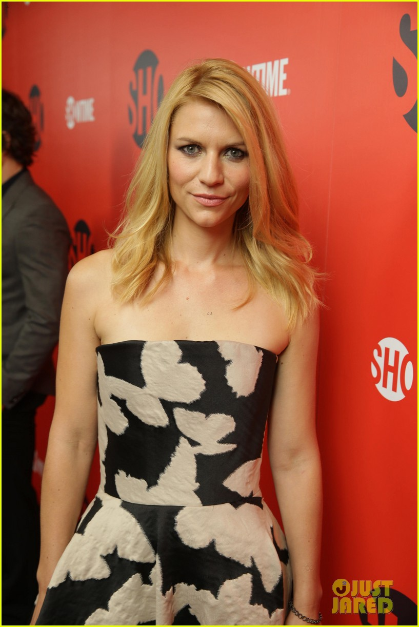claire danes damian lewis showtime pre emmys party 37