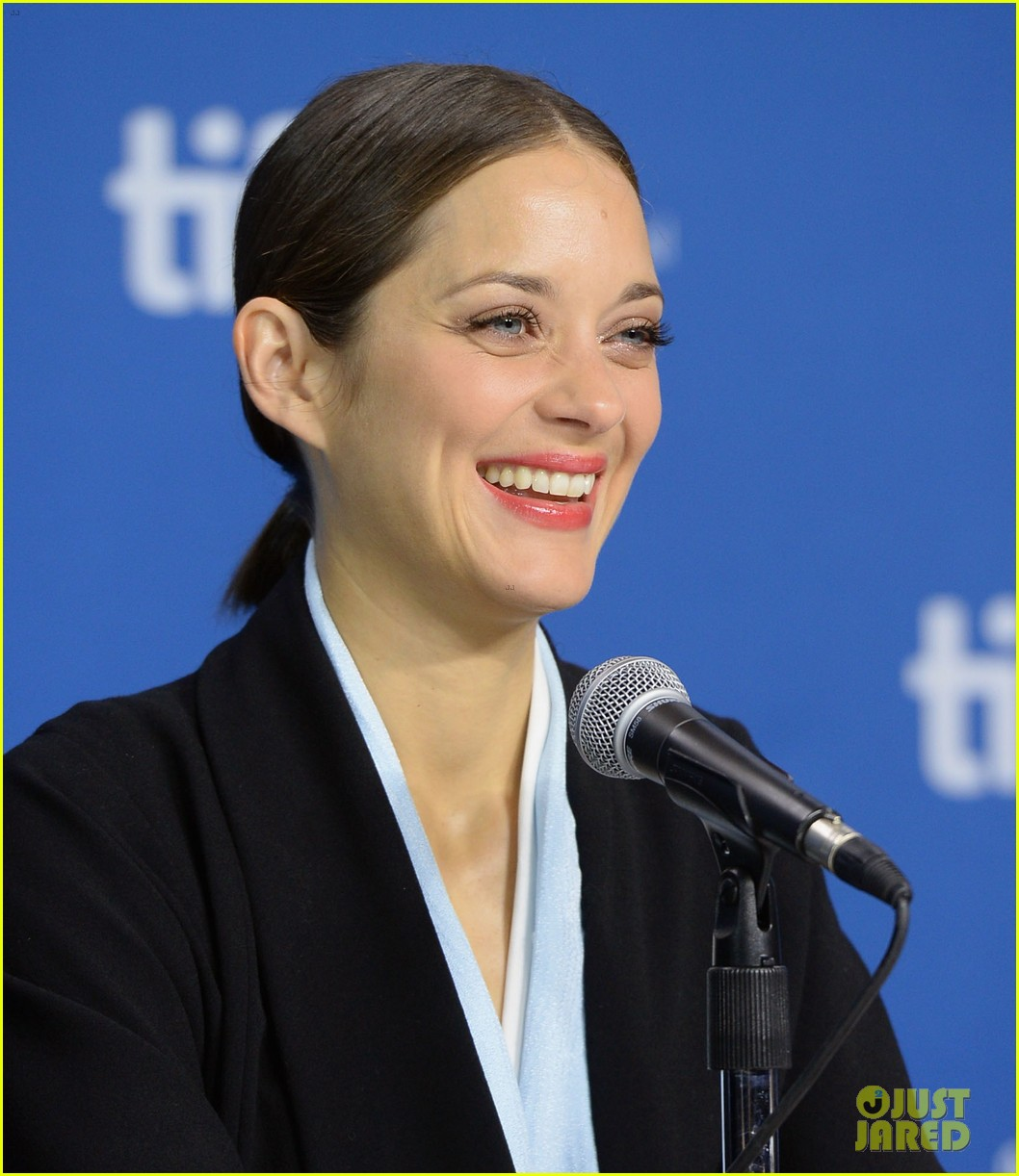 marion cotillard blood ties tiff press conference 022949369