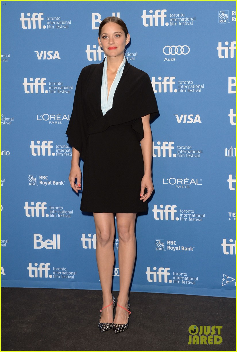 marion cotillard blood ties tiff press conference 072949374