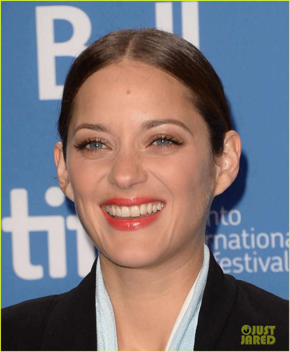 marion cotillard blood ties tiff press conference 08