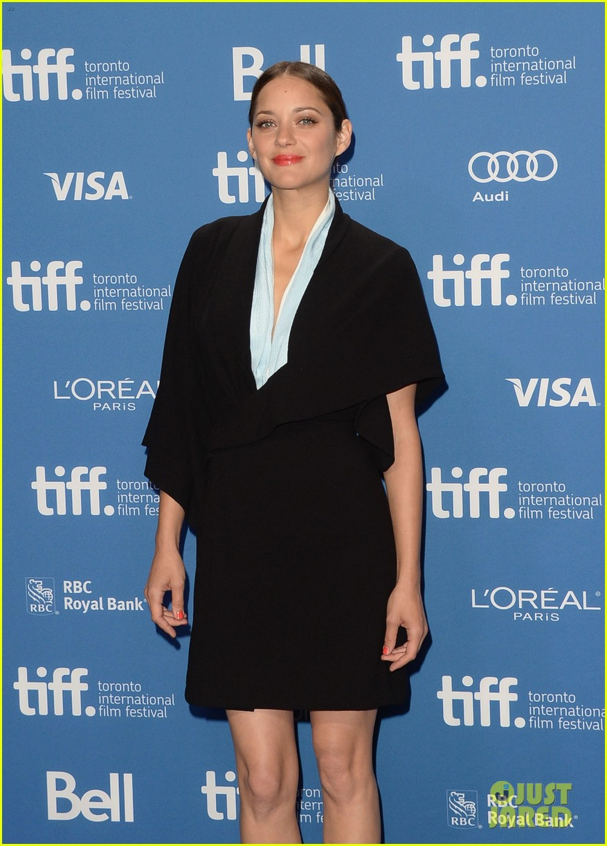 marion cotillard blood ties tiff press conference 11