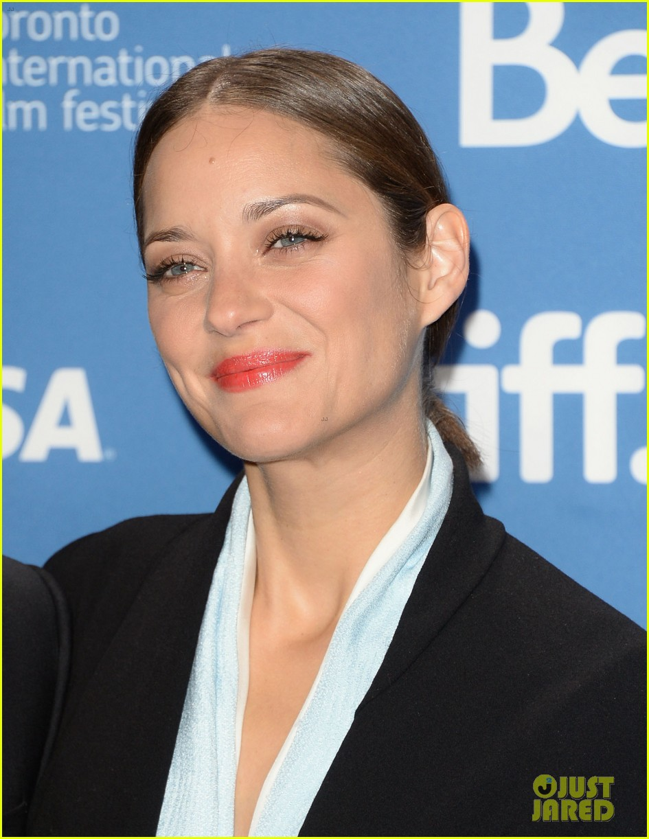 marion cotillard blood ties tiff press conference 12