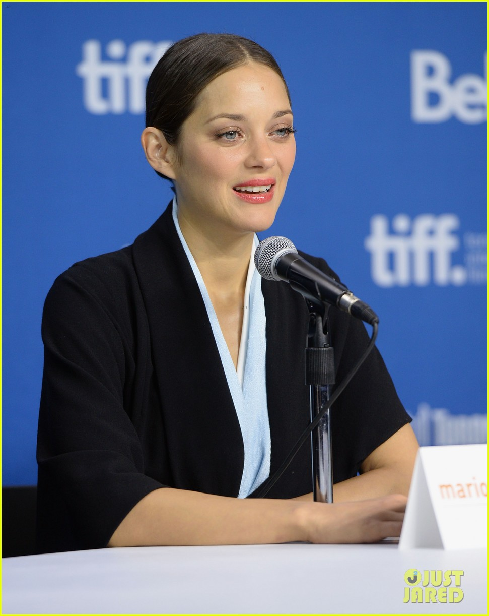 marion cotillard blood ties tiff press conference 18