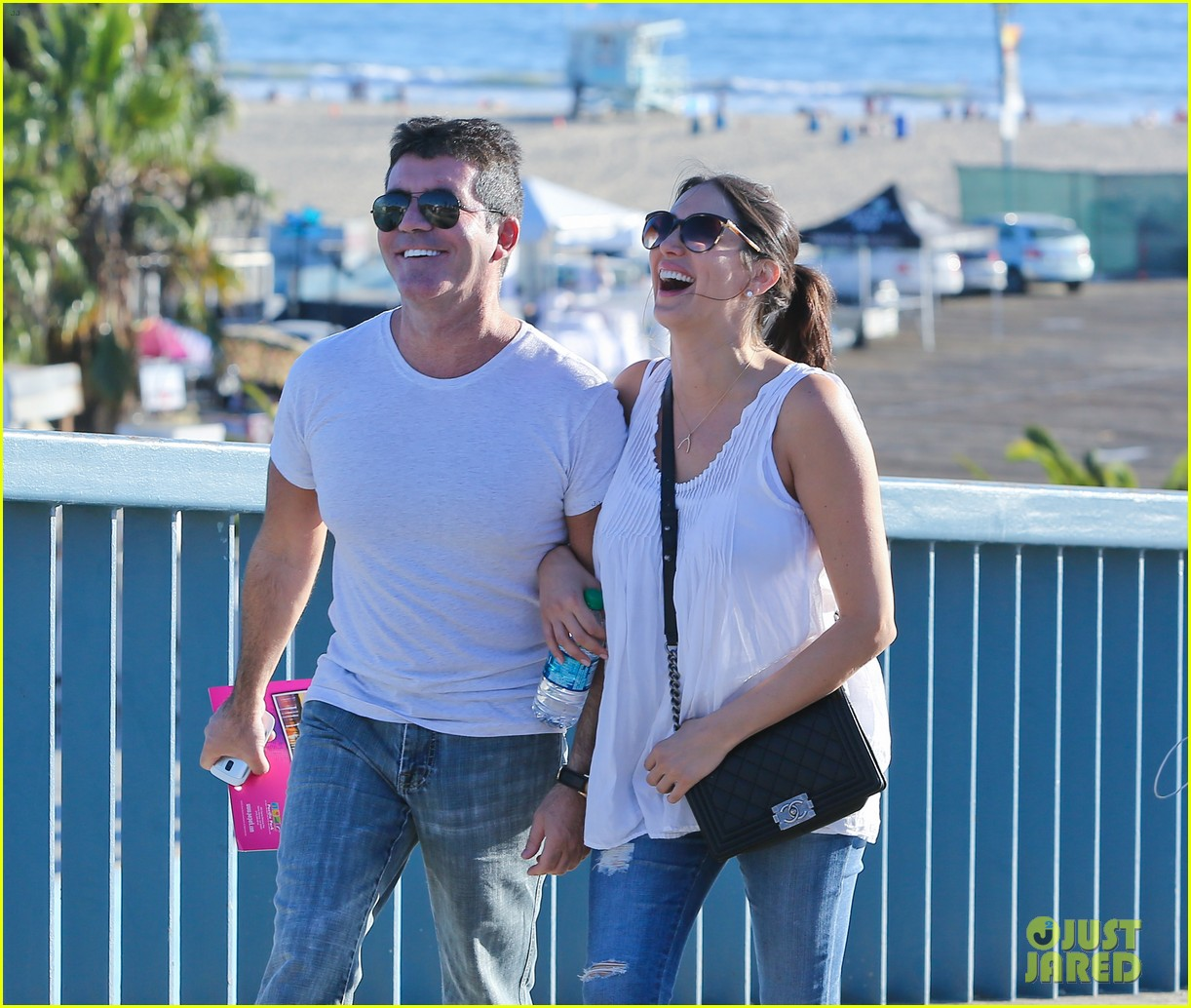 simon cowell lauren silverman weekend lovers 062963050