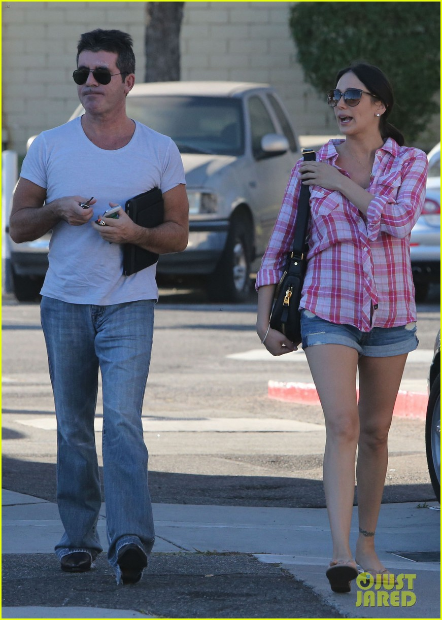 simon cowell lauren silverman weekend lovers 19
