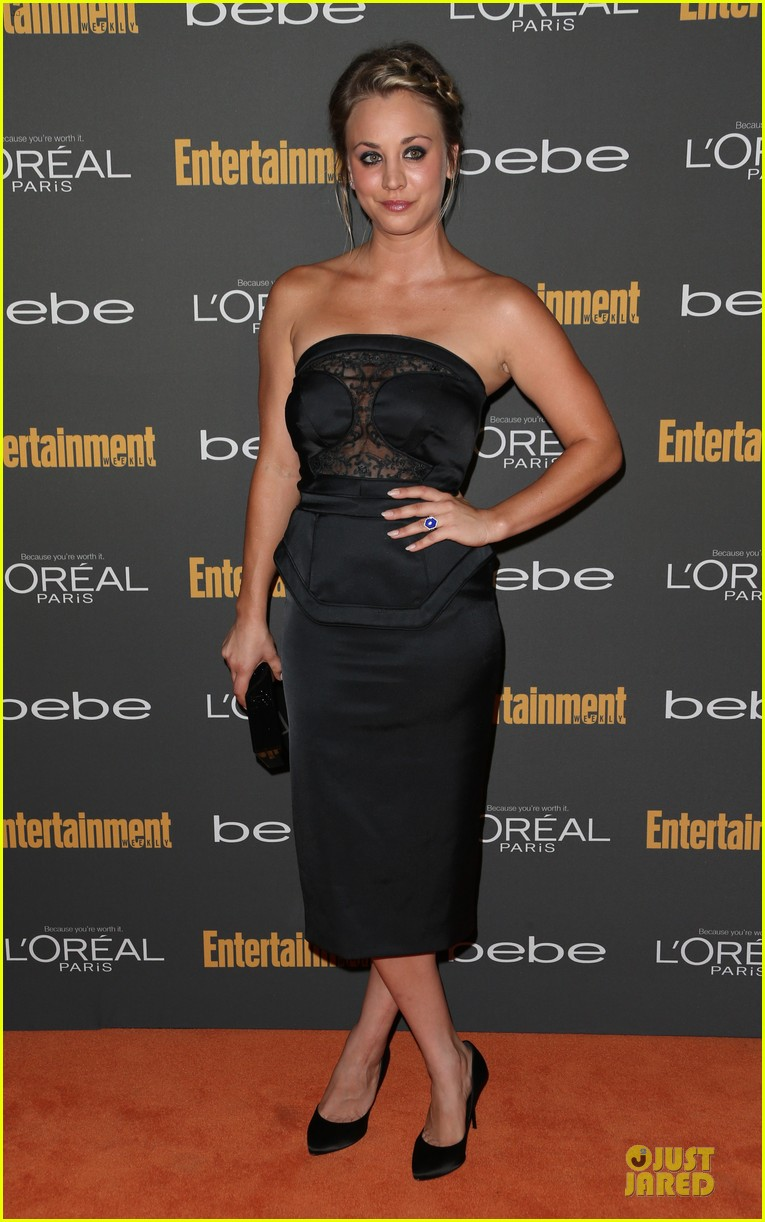 kaley cuoco ryan sweeting ew pre emmy party 182956666