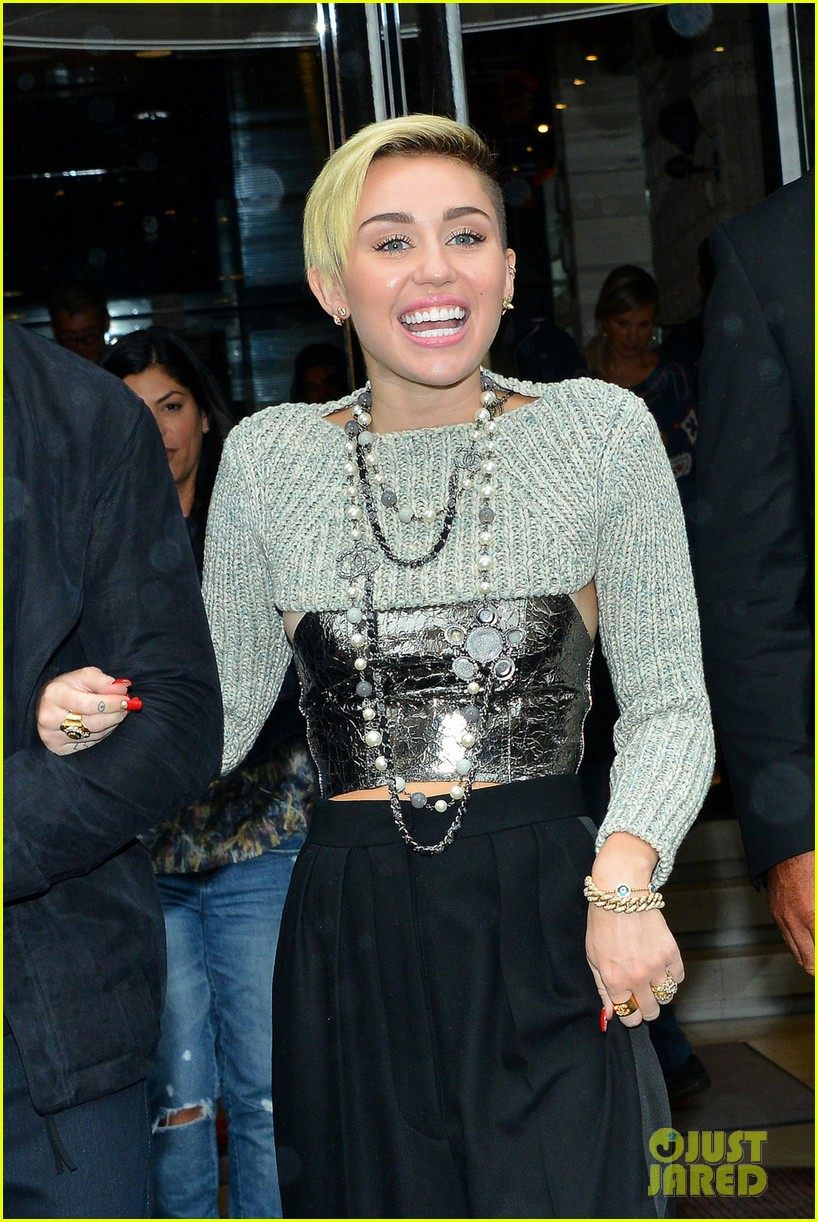 miley cyrus steps out in paris before wrecking ball premiere 05