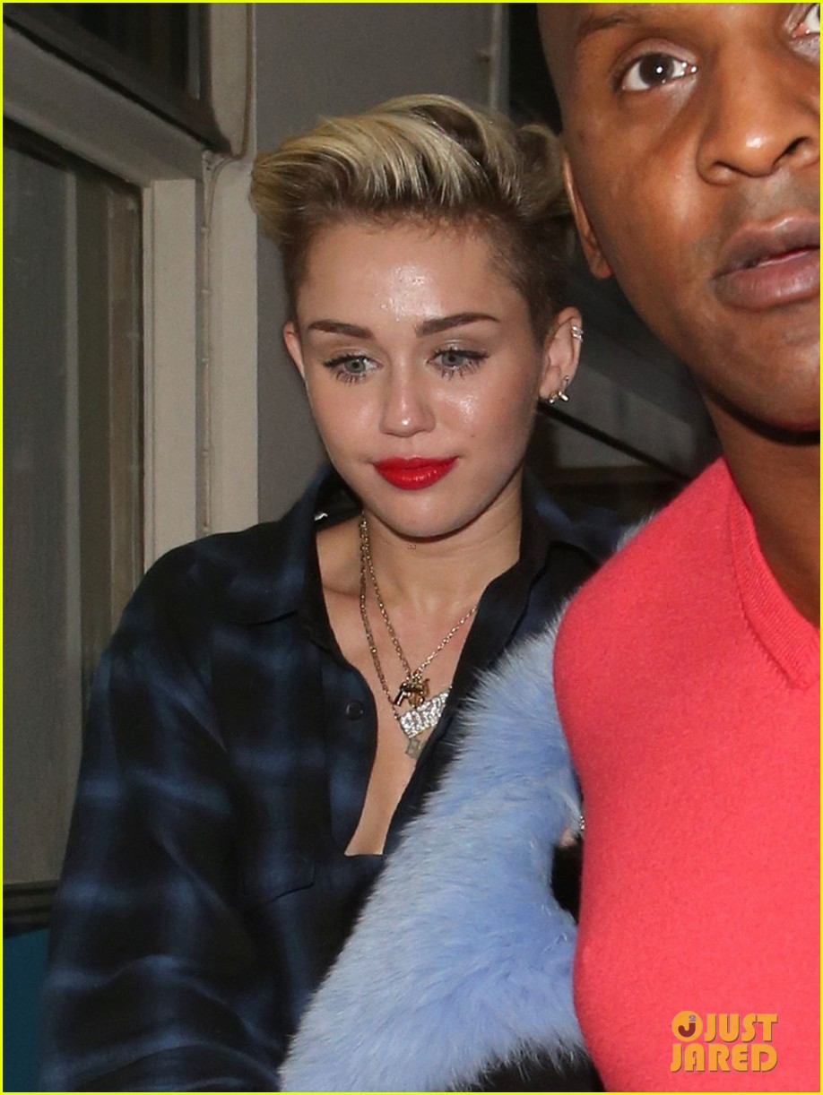 miley cyrus steps out after breaking vevo video record 13