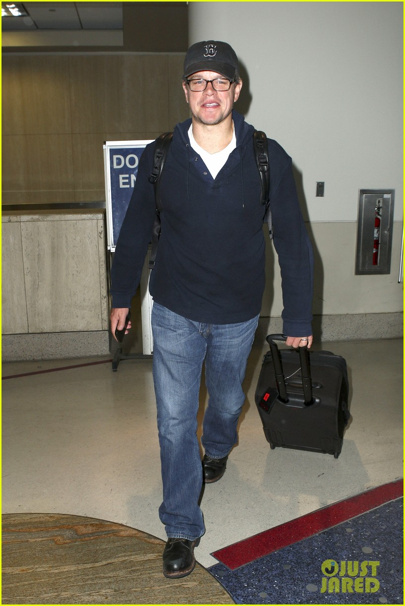 matt damon hayden panettiere arrive for emmys weekend 072957666