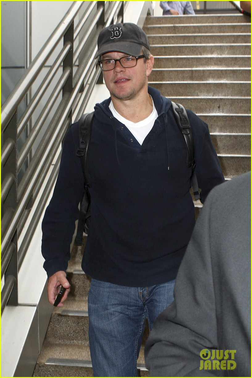 matt damon hayden panettiere arrive for emmys weekend 092957668