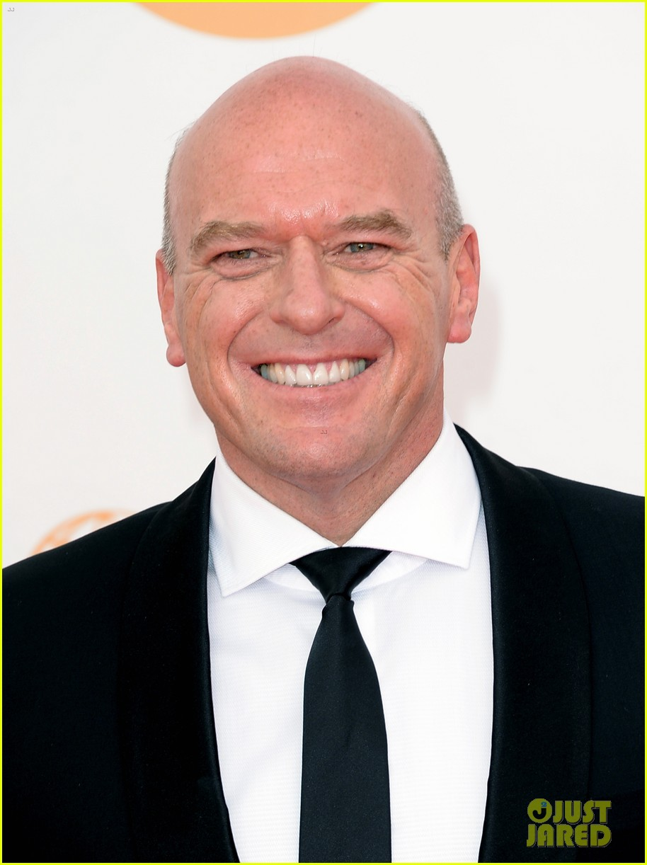 betsy brant dean norris emmys 2013 red carpet 02