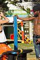 jason derulo shirtless workout in australia 23