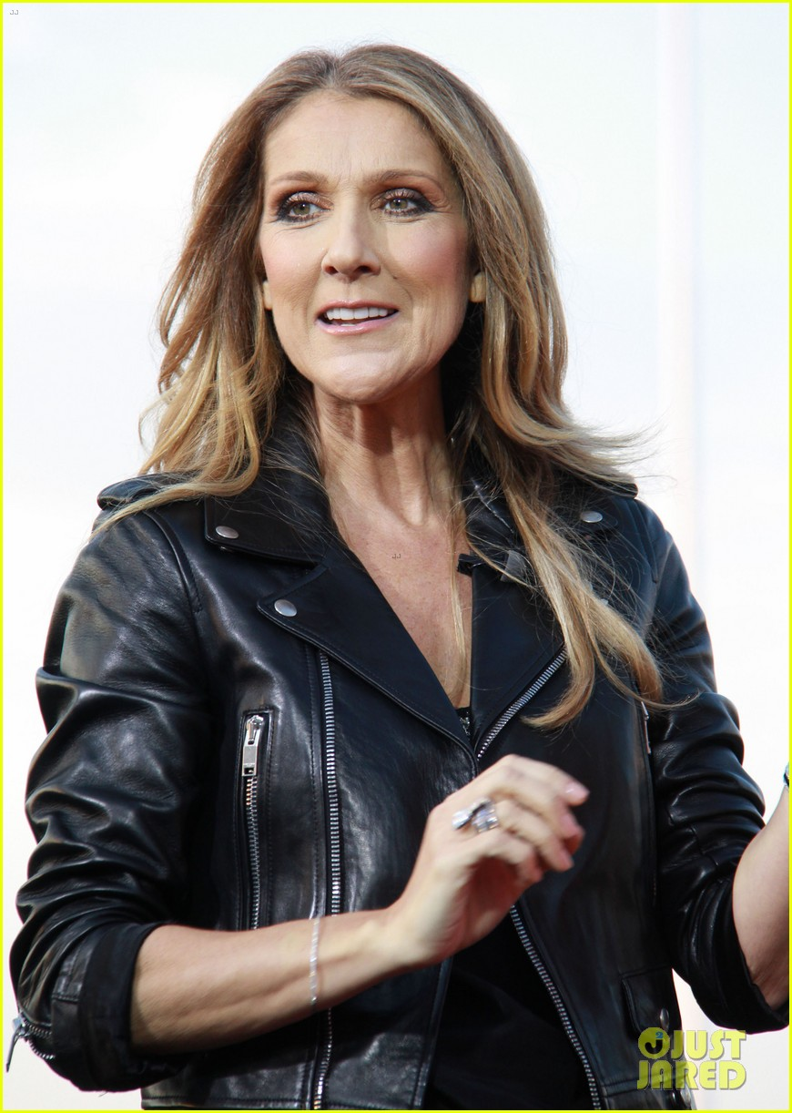 celine dion tapes extra appearance with maria menounos 02