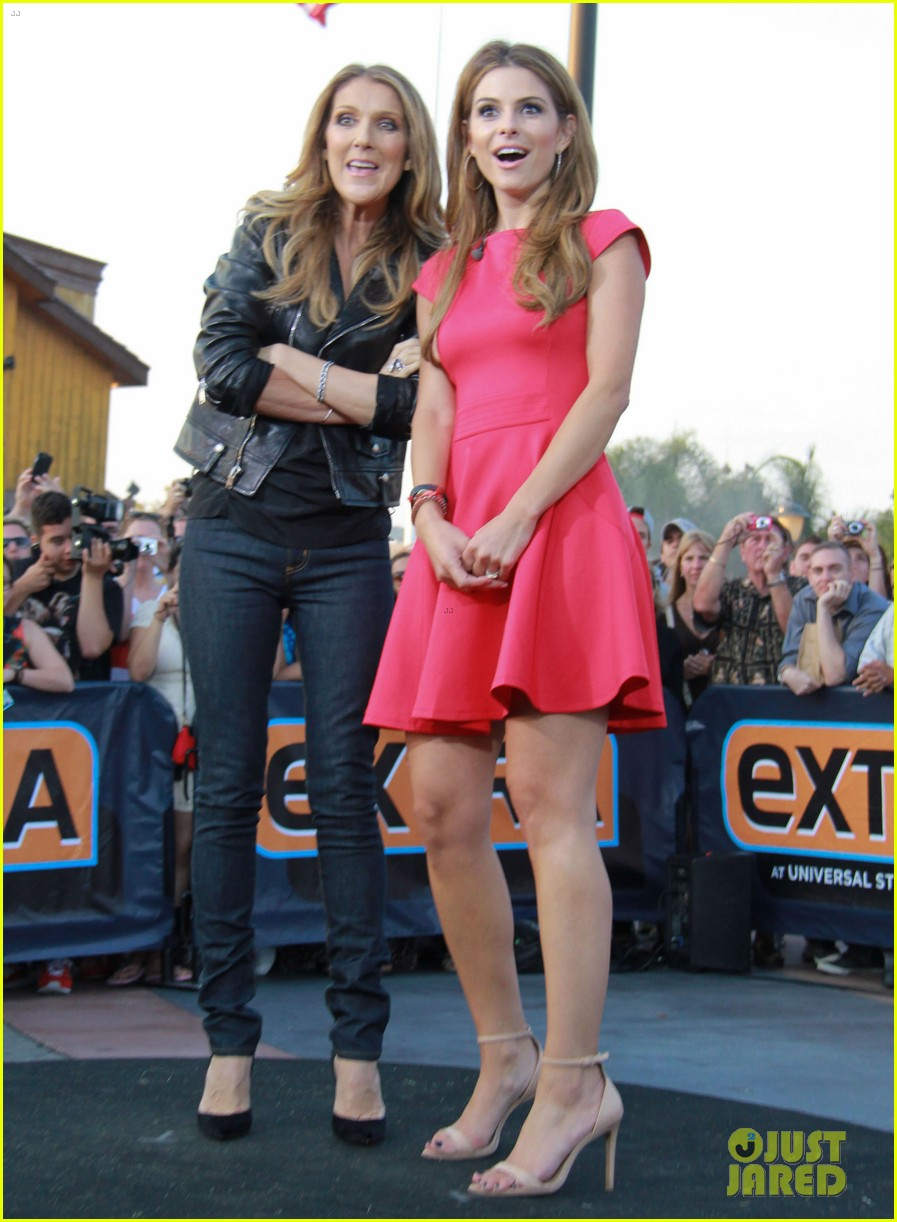 celine dion tapes extra appearance with maria menounos 12