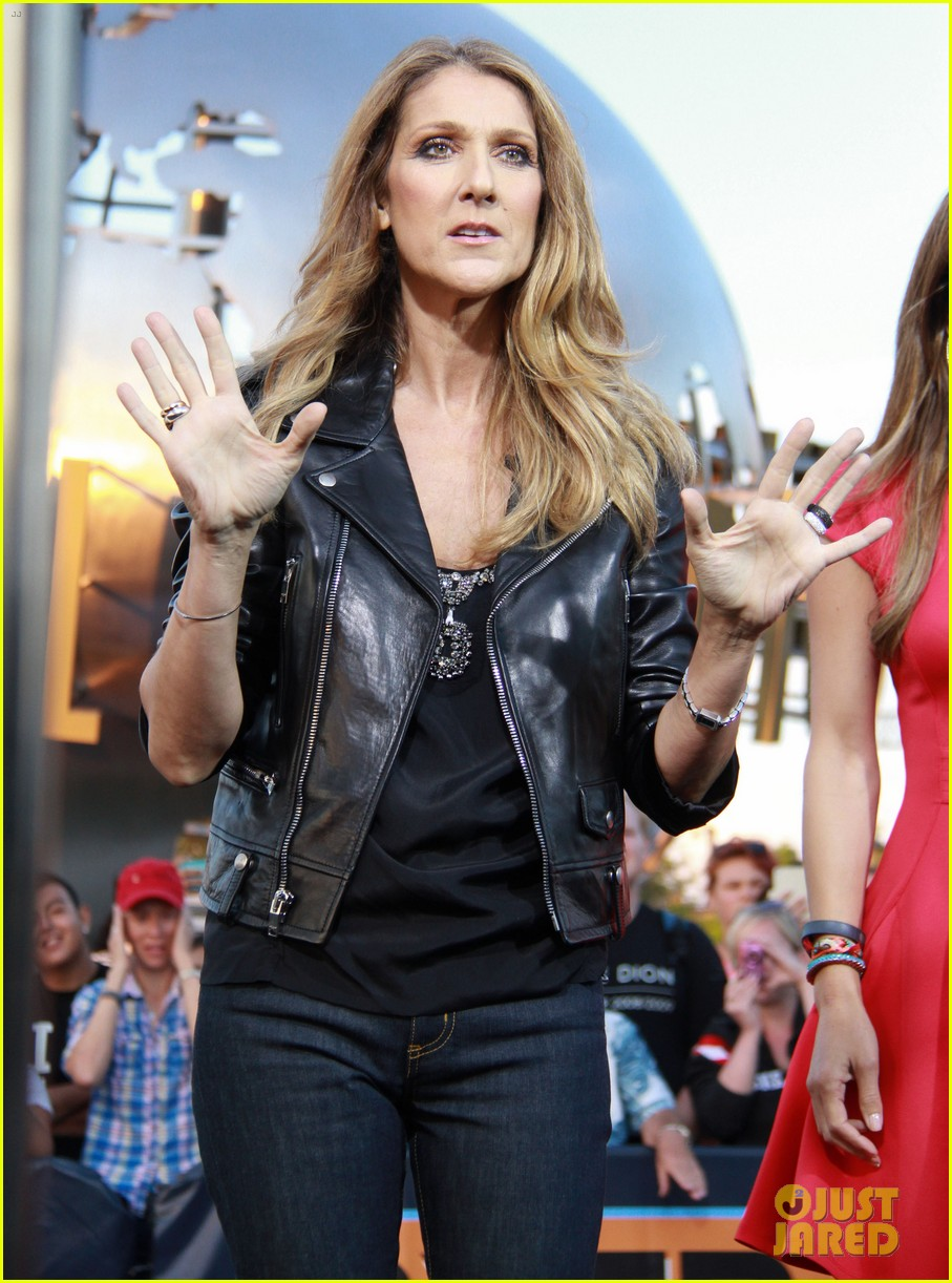 celine dion tapes extra appearance with maria menounos 15