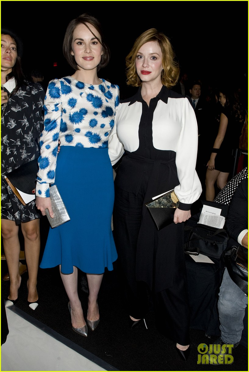 michelle dockery carolina herrera show 18