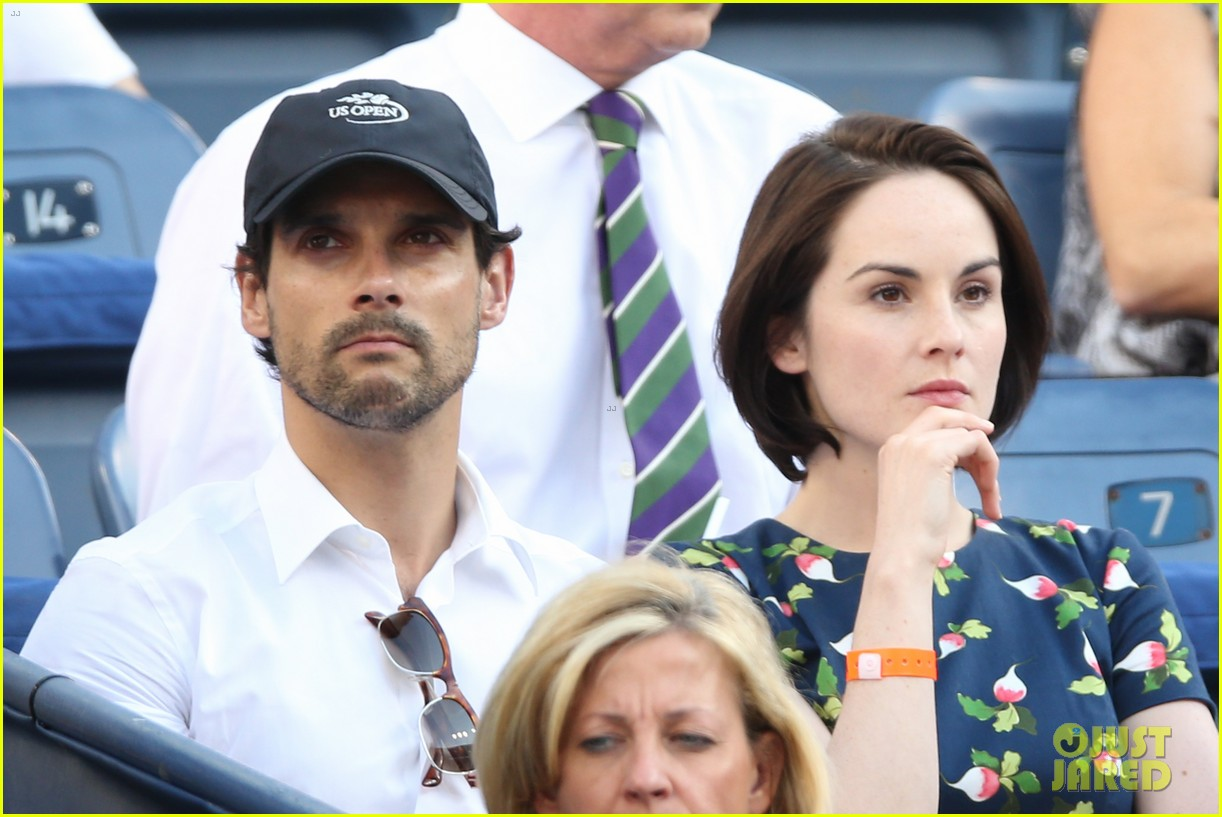 michelle dockery boyfriend john dineen watch us open 012945815