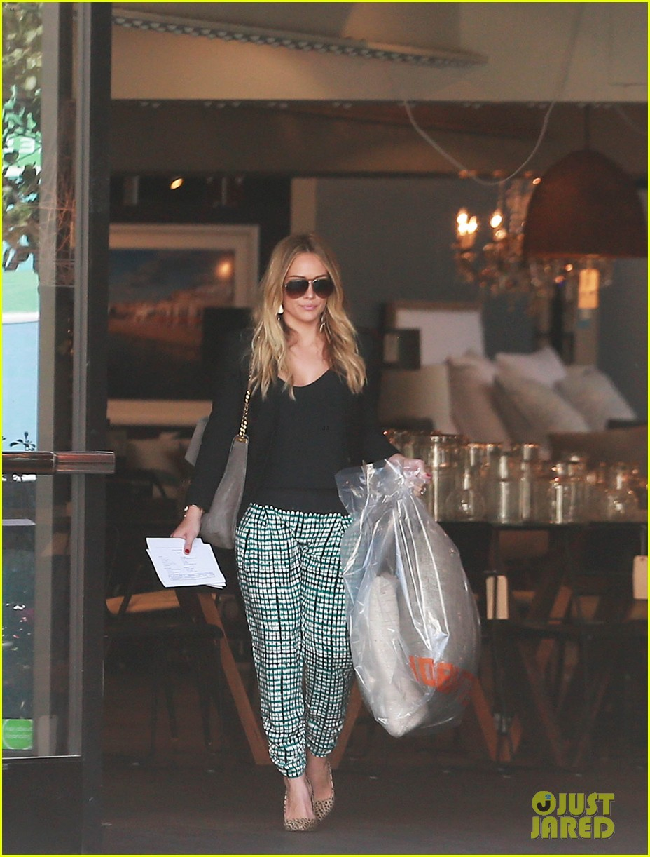 hilary duff the weeknd concert night out 10