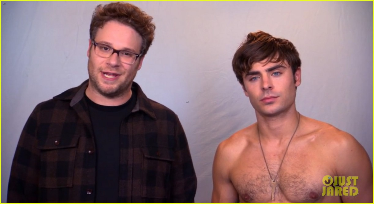 zac efron goes shirtless in neighbors tv spot watch now 01